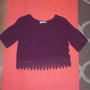 Abercrombie and Fitch small crop dress top
